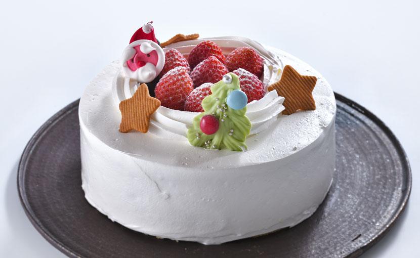 生クリームデコレーション(クリスマスケーキ)