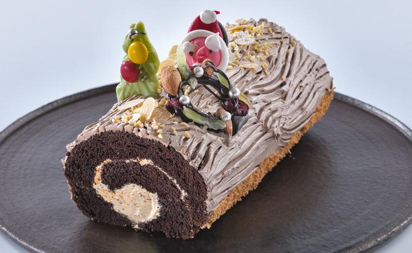 ブッシュ・ド・ノエル(クリスマスケーキ)